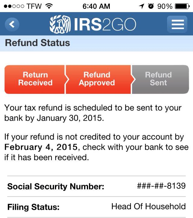 Estimate Your Tax Refund for a 2015 Tax Return
