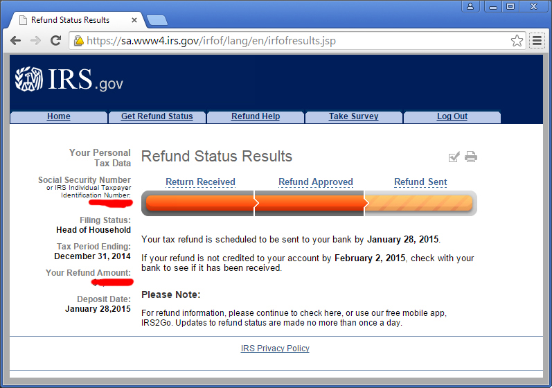 Pics Photos - Irs E File Refund Schedule