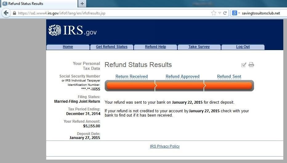 2015 Tax Refund Schedule: When Will You Get Your Refund ...