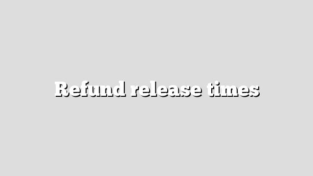 Irs refund release dates in Sydney