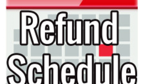 Irs Refund Calendar 2020 2016 IRS Refund Cycle Chart for Tax Year 2015. IRS Refund Schedule